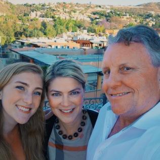 Andrea, Caroline and Rick
